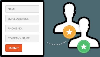 CRM website integration