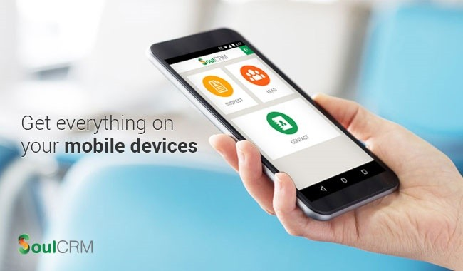 SoulCRM Mobile App on Android